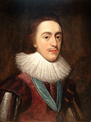 Charles I of England - Portrait of Charles as Prince of Wales after Daniel Mytens, c. 1623