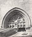 Charles Marville, Eglise St. Jean Baptiste de Belleville, sculpteur 5, ca. 1863–70.jpg