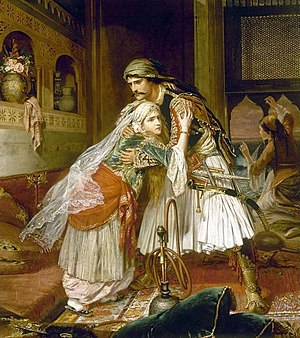 "Il corsaro - ""The Parting Of Corrado and Medora"" by Charles Wynne Nicholls"