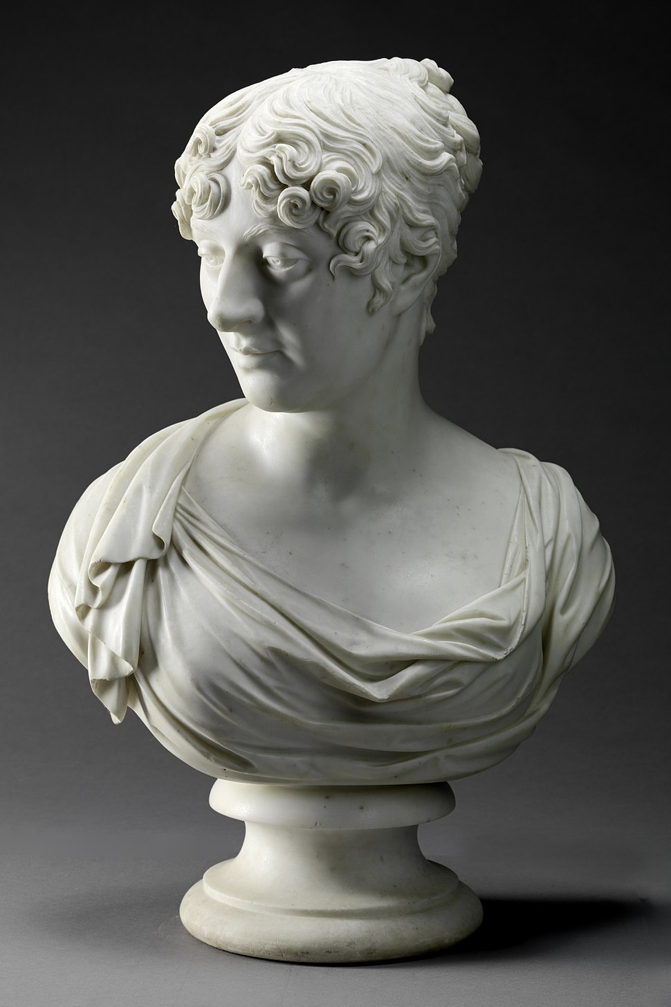 Charlotte, 4th Duchess of Richmond (1768-1842), by Joseph Nollekens