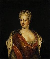 Portrait of Charlotte Sophia Christina of Brunswick Wolfenbuttel