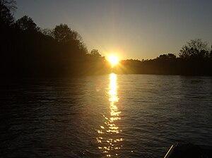 Chattahoochee River National Recreation Area - Chattahoochee River NRA Island Ford Shoals near Roswell, GA