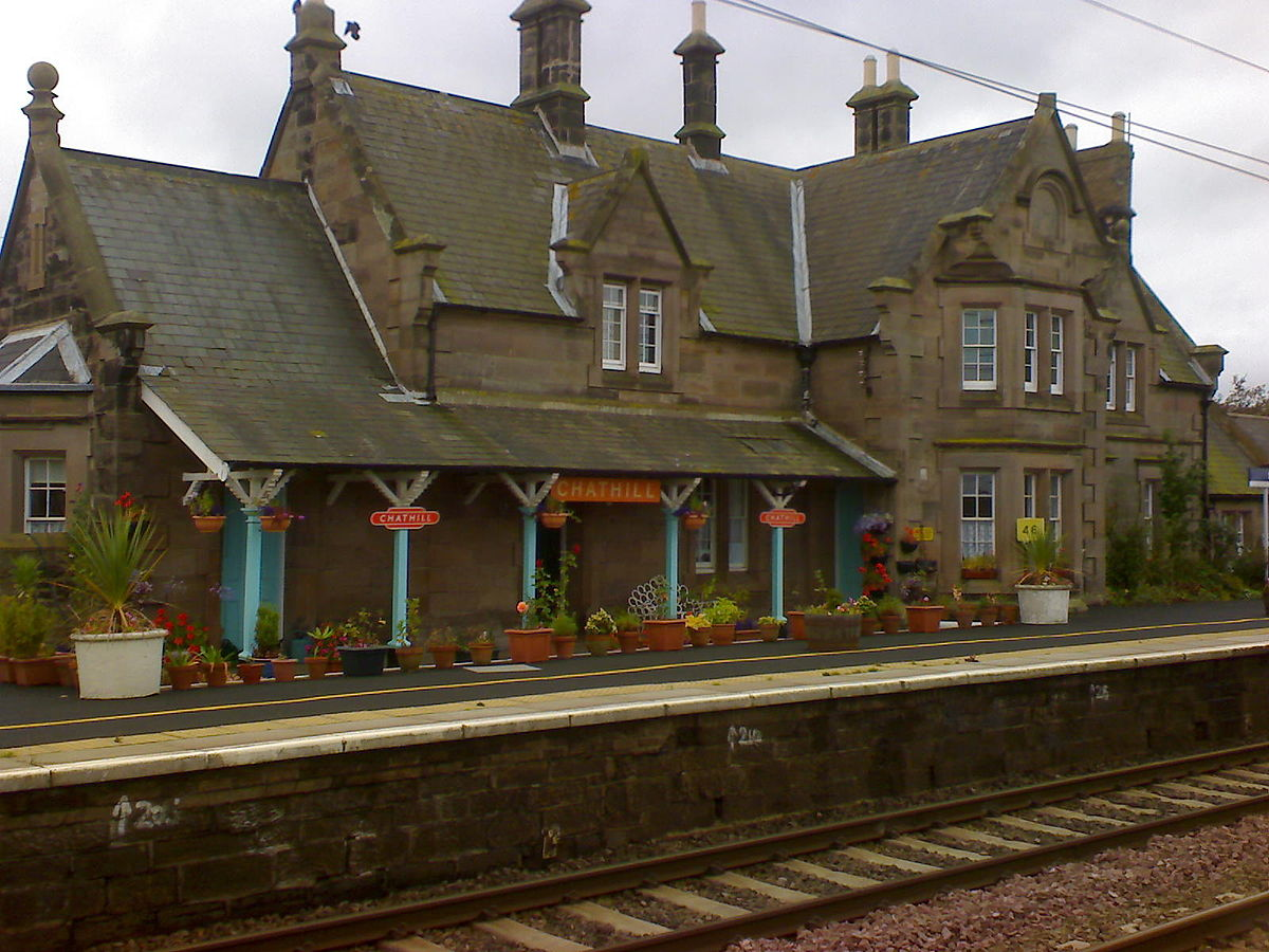 Chathill Railway Station Wikipedia