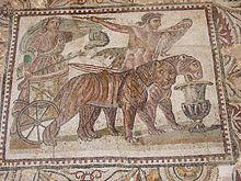 Cherchell museum - car pulled by leopards.jpg