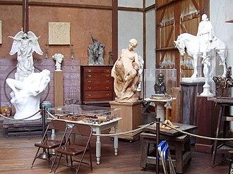 Chesterwood (Massachusetts) - Image: Chesterwood (Stockbridge, MA) studio interior