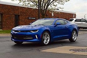 2013 Cadillac Ats 2.0 L Turbo >> Chevrolet Camaro (sixth generation) - Wikipedia