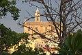 Chiesa parrocchiale di Montecarotto al tramonto 2012.jpg