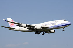Boeing 747-400 der China Airlines