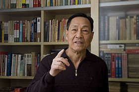 Chinese ex-official Bao Tong at home.jpg