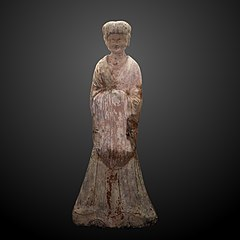 Chinese statuette of a courtier