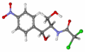Chloramphenicol ball-and-stick.png