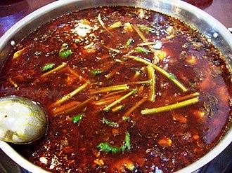 Hot pot - Image: Chongqing hotpot.1