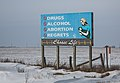 Choose Life Anti-Abortion Sign, Rural Iowa (24299293010).jpg