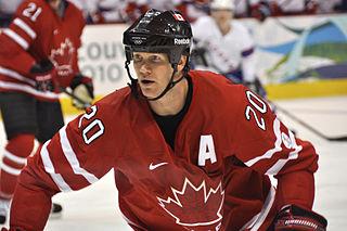 Chris Pronger Canadian ice hockey defenceman
