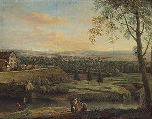 View of Unterneustadt, Kassel