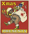 Christmas poster featuring a koala dressed in Santa hat and boots ca 1920 (7960375258).jpg