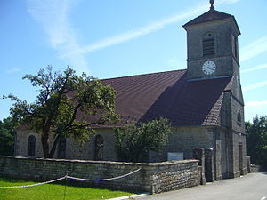 Church Chamole Jura France.JPG