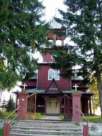 Medininkai - Church of Medininkai