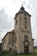 Church of Saint Barbara, Rynoltice 2014 01.JPG