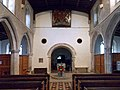 Church of St John, Finchingfield Essex England - nave and tower arch.jpg