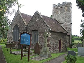 Church of St Martin, Llanmartin - geograph.org.uk - 1449670.jpg