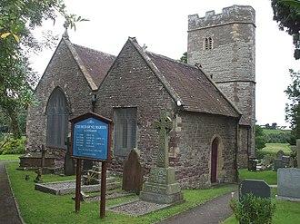 Llanmartin - Church of St Martin