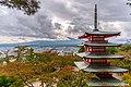 Chureito Pagoda and Mount Fuji (44951842365).jpg