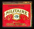 Cigarettes Militaire Quality Colonel, voorkant.JPG