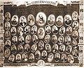 Cipriano Castro, su estado mayor, jefes y oficiales 1899.jpg