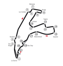 2004 Belgian Grand Prix on mercedes race