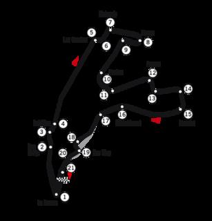 Formula One motor race