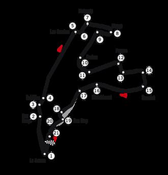 1999 Belgian Grand Prix - Circuit de Spa-Francorchamps (last modified in 1996)