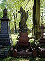 City of London Cemetery Henry Alcock 1909 angel sculpture grave monument 1.jpg
