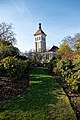 City of London Cemetery Traditional Crematorium East Chapel from Memorial Gardens 1.jpg
