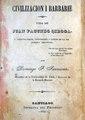 Civilizacion i barbarie...1845 - Domingo F. Sarmiento.pdf