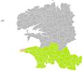 Cléden-Cap-Sizun (Finistère) dans son Arrondissement.png