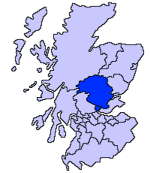 Perth and North Perthshire (UK Parliament constituency) - Image: Clackmannanshire, Perth and Kinross