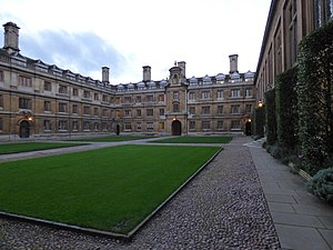Clare College, back of Old Court.jpeg
