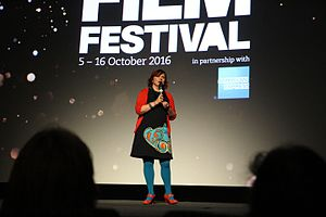 BFI London Film Festival - Clare Stewart at the 2016 festival