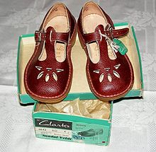 7bf3b7def4df6 Clarks Joyance T-bar sandals were produced from 1933 to 1973.