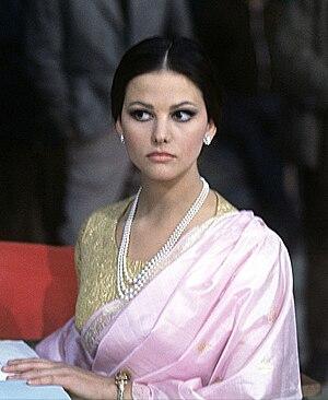 Claudia Cardinale - Claudia Cardinale filming The Pink Panther (1963)