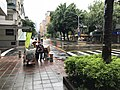 Cleaning Works of DEPCT Working at Sanmin Road, Taipei after Rain 20171013a.jpg