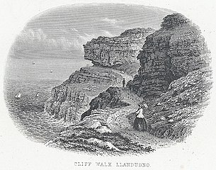 Cliff Walk, Llandudno
