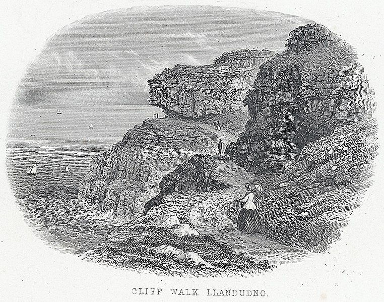 File:Cliff Walk, Llandudno.jpeg