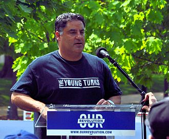 Cenk Uygur - Uygur speaking at the People's Climate March in Washington, D.C. in April 2017.