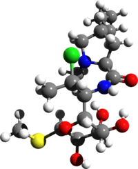 Clindamycin 3d structure.png