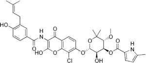 Clorobiocin
