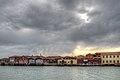 Cloudy Sunset - Murano, Venice, Italy - April 18, 2013 01.jpg
