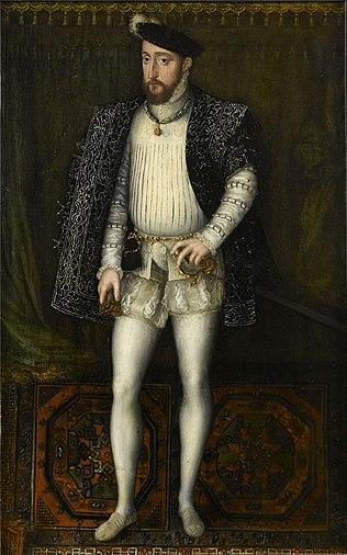 Clouet atelier Henri II Roi de France