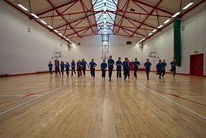 Coachford College - Sports Hall at Coachford College